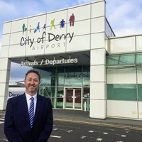 Former Gulf Helicopters boss takes over at City of Derry Airport
