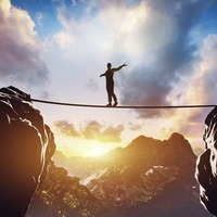 Are you living life on a tightrope?