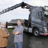 Ballycastle man follows in his father's footsteps to launch new haulage firm
