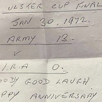 Footballer James McClean sent Bloody Sunday hate mail