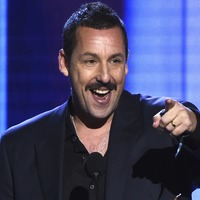Spirit Award winner Adam Sandler makes light of Oscar snub