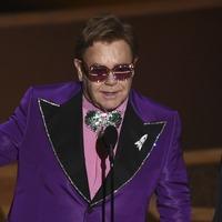 Sir Elton John and Bernie Taupin win best original song at the Oscars