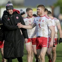 I never gave up hope Cathal McShane would return to Tyrone fold says boss Mickey Harte