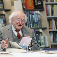 President donates 700 books across Dublin's libraries