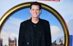 Jim Carrey: I'm black and blue from pinch-me moments