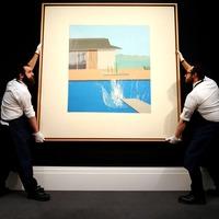 Hockney masterpiece sells for £23.1 million