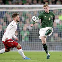 James McClean injury doubt for Republic of Ireland Euro 2020 play-offs