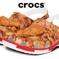KFC launches limited edition Crocs – and they smell like fried chicken