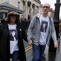 Lyra McKee's sister faces man accused of her murder