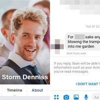 Carpenter called Storm Denniss inundated with Facebook messages