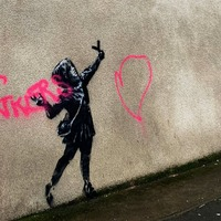 Banksy Bristol artwork given extra protection after 'mindless vandalism'