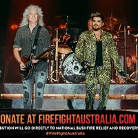 Queen and Adam Lambert repeat 1985 Live Aid set at bushfire concert in Australia