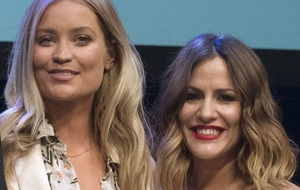 Laura Whitmore remembers 'vivacious' Caroline Flack in tearful radio tribute