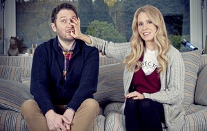 TV Quickfire: Stars Jon Richardson and wife Lucy Beaumont on new 'reality' sitcom Meet The Richardsons