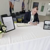 IFA opens book of condolences for Harry Gregg