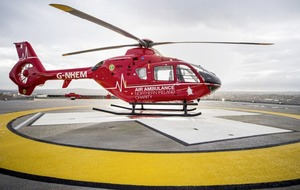 New helipad at RVH will save 25 minutes during each emergency