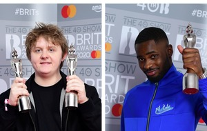 Lewis Capaldi and Dave among big winners at male-dominated Brits