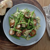 James St Cookery School: Warm Potato Salad with Green Beans and Carrot and Lentil Soup