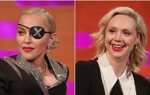 Gwendoline Christie delighted as Madonna joins her for racy chat at live show