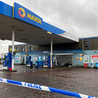 Police probe attempted ATM theft at Co Antrim petrol station