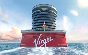 Sir Richard Branson vows to get a tattoo on his new adults-only cruise ship