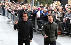 And and Dec make Saturday Night Takeaway return following hiatus
