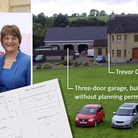 DUP MLA's triple garage contains upstairs with gym, pool table and bowling mat