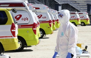 South Korean president puts country on highest alert after coronavirus outbreak