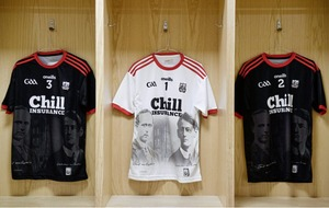 Cork GAA jerseys to commemorate centenary of War of Independence get first outing