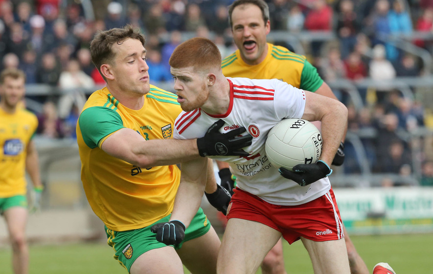 Cathal McShane injured as Tyrone are demolished in Tuam