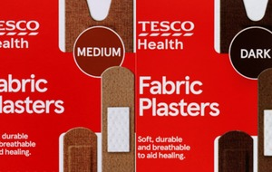 Tesco launches plasters in diverse range of skin tones in UK first