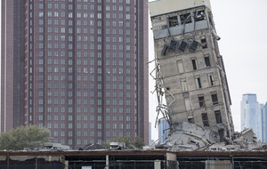 'Leaning Tower of Dallas' resists second demolition attempt