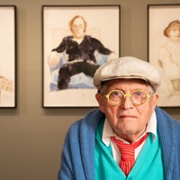 David Hockney unveils new portraits of his closest friends ahead of exhibition