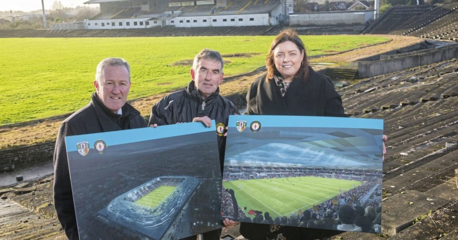 Stormont department says it has not asked executive for further £33m for Casement Park