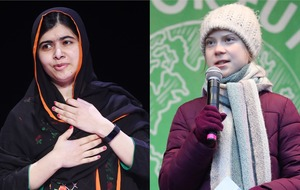 Greta Thunberg meets 'role model' Malala Yousafzai in Oxford