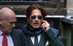 Johnny Depp appears at High Court hearing over libel case against The Sun