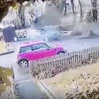 Watch: Footage of shocking Co Antrim car crash