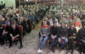 Hundreds of people attend Sinn Féin rally in Newry