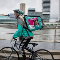 Deliveroo riders to carry posters of missing people on their backpacks