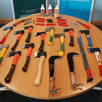 Three arrested and weapons seized after Strabane funeral disturbance