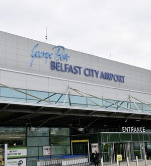 Belfast City ranked among UK's best airports