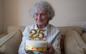 Party for great-great-grandmother to celebrate her 25th birthday on Leap Day