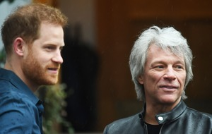 Duke of Sussex joins Jon Bon Jovi at Abbey Road Studios