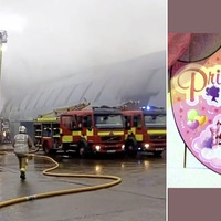 Ballyclare parties and events business facility destroyed in blaze