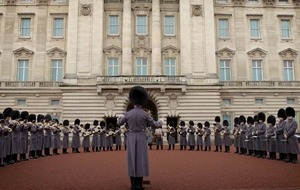 Band of the Household Guard play Bon Jovi medley outside Buckingham Palace