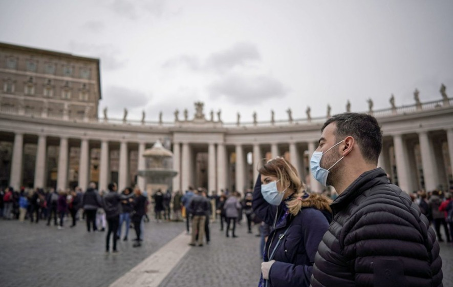 Vatican confirms first person to test positive for coronavirus inside its walls