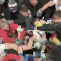 Mass brawl in tunnel overshadows Tyrone's win over All-Ireland champions Dublin