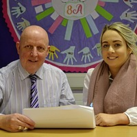 St Aidan's and QIH launch major school/business partnership