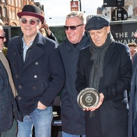 Madness unveil stone on Camden's Music Walk Of Fame