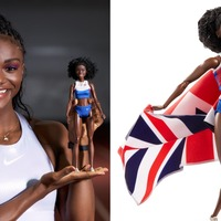 World champion sprinter Dina Asher-Smith made into 'Shero' Barbie doll